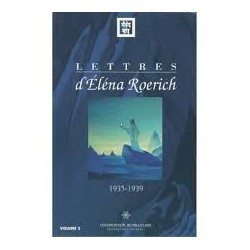Lettres d'Elena Roerich...